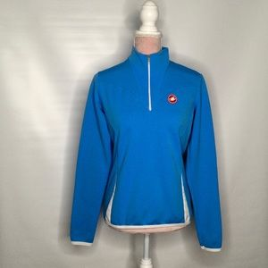 Castelli cycling top. Back pockets,gorgeous colour